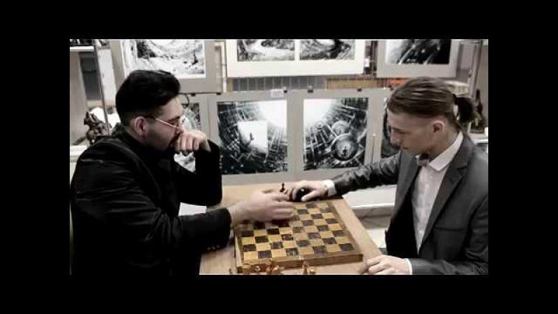 Видео-приглашение Чёрно-белое