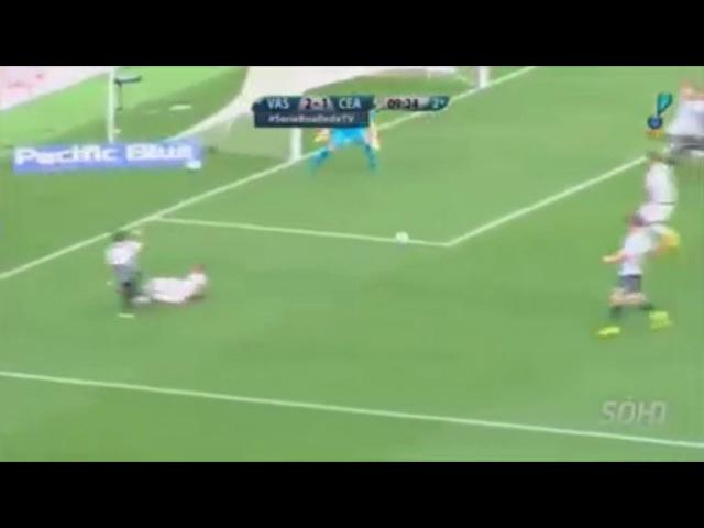 Silvio Luiz narra gol que não foi no jogo Vasco 2 x 1 Ceará