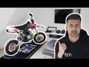 MOTORRAD IN DER WOHNUNG BIKEPORN Neues Dekor YCF Pitbike