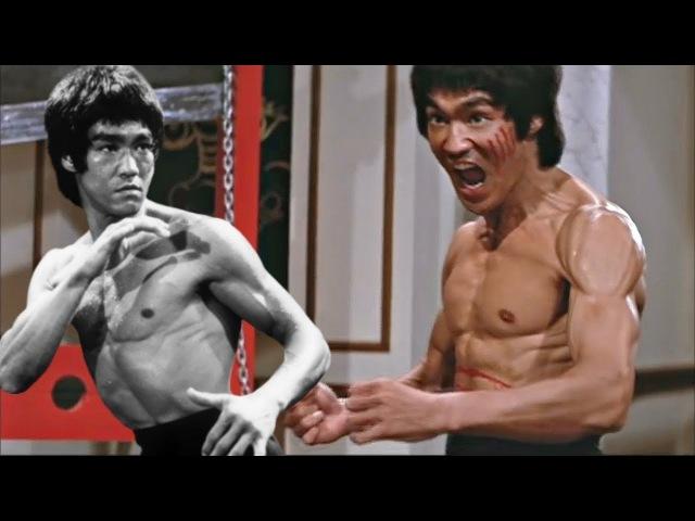Реальный бой Брюса Ли!