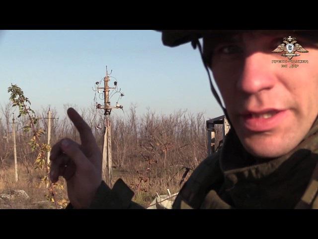 Военкор пресс-службы ВС ДНР попал под обстрел на Авдеевской промзоне