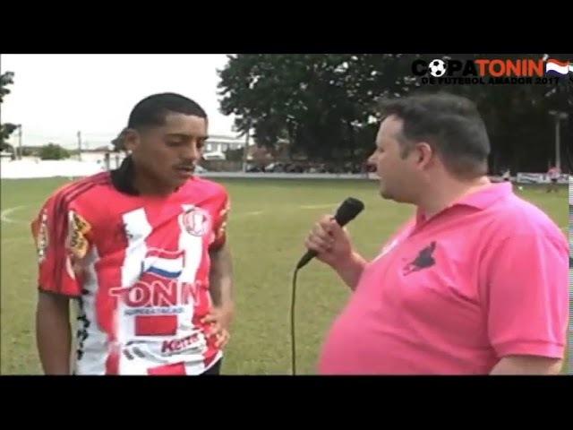 Gago dando entrevista Amador Ribeirão Preto SP
