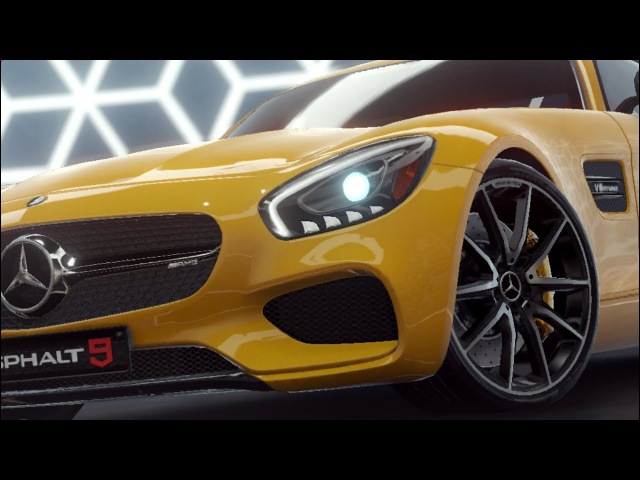 Asphalt 9: Legends - Mercedes-Benz AMG GT S Test Drive