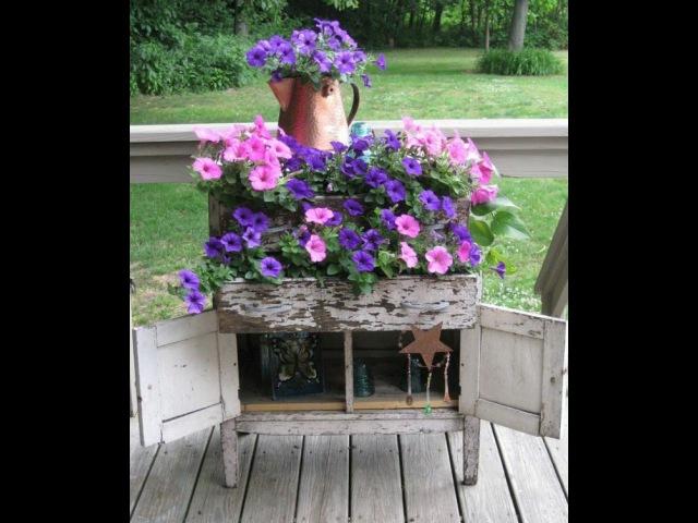 Винтажные украшения дачи своими руками Идеи для дачи и сада