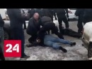 Банду автоподставщиков задержали на парковке гипермаркета Глобус в Королёве