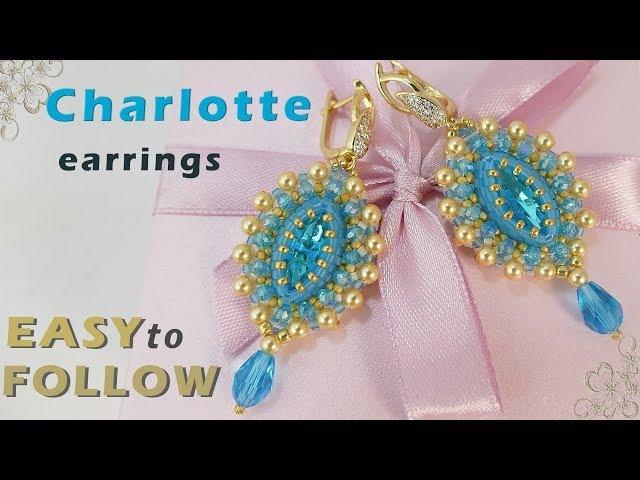 How to bezel Navette 15х7 and make earrings.tutorial