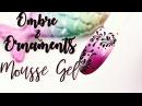 💅Mousse Gel Indigo💅 :: Ombre and Ornament Nailart :: Szybkie salonowe zdobienie! :: Odette Swan