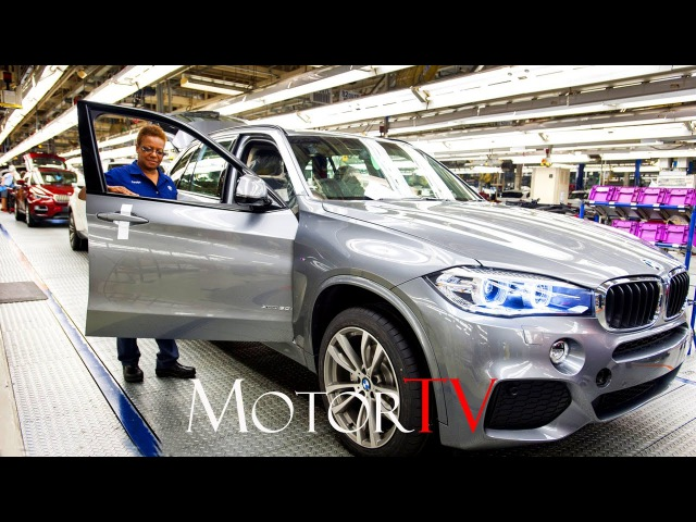 CAR FACTORY : SUV BMW X5 - X6 PRODUCTION l ASSEMBLY LINE