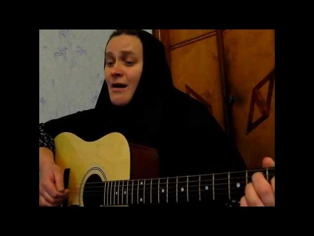 Чёрные ризы - поёт м. Анна ..видео: сергей лаврентьев-24.11.2014 г.