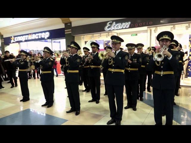 Новогодний хит военный оркестр МО жжет!