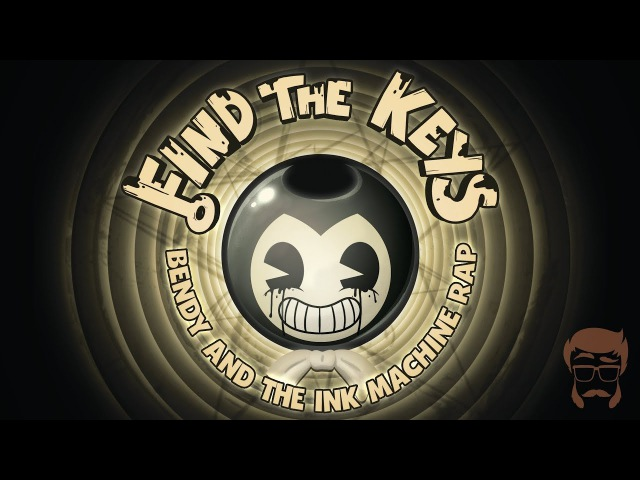 FIND THE KEYS Animated Bendy and the Ink Machine Rap
