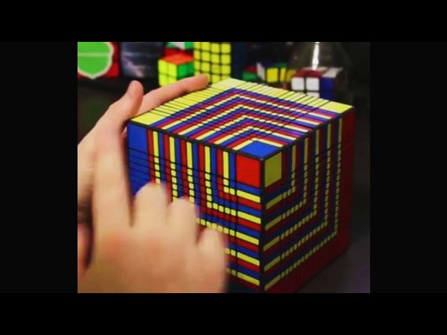 3 year old solves world's hardest rubik's cube in 5 seconds