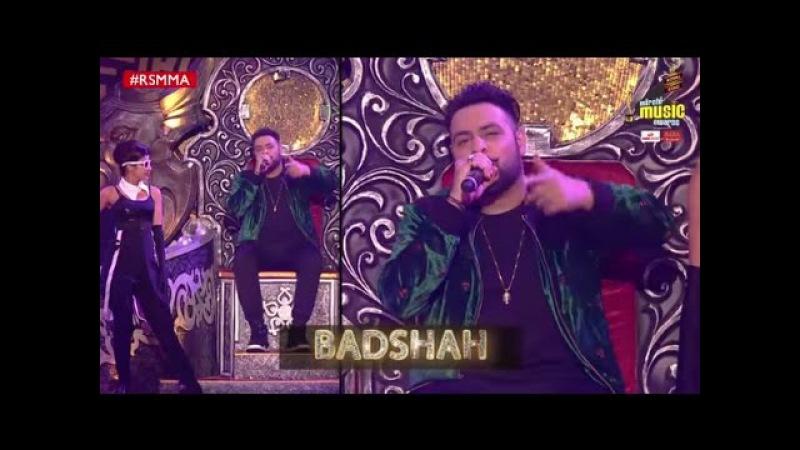 Badshah performs an unbeatable medley of his songs at Royal Stag Mirchi Music Awards | RSMMA