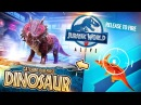 Hunting Our FIRST DINOSAUR In JURASSIC WORLD ALIVE!