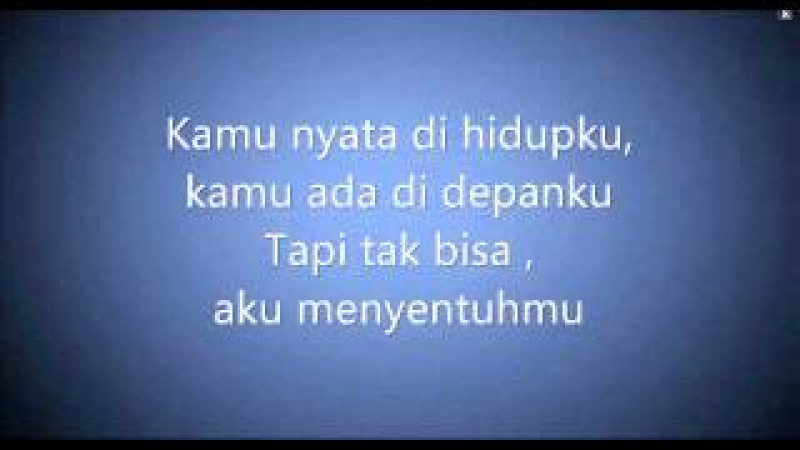 Kamu nyata with Lyrics Acoustic Izzy Ost D'bijis