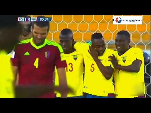 Ecuador vs Venezuela 3-0 - Todos los Goles - 15Noviembre2016 - Eliminatorias Rusia 2018