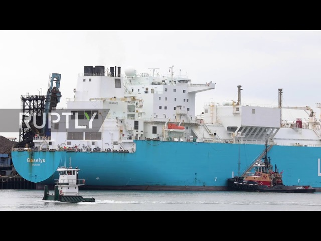 USA: Tanker carrying first batch of Russian gas arrives in Boston