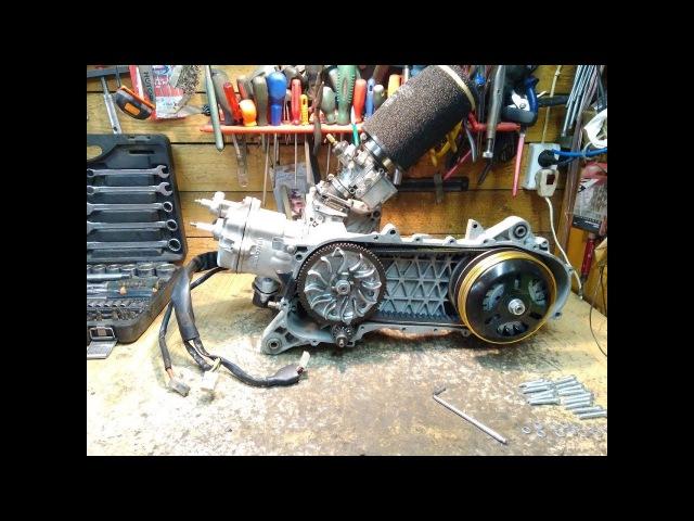 Fort Garage Мануальчег BigBlock Мотор Italjet Super Dragster 172Mhr