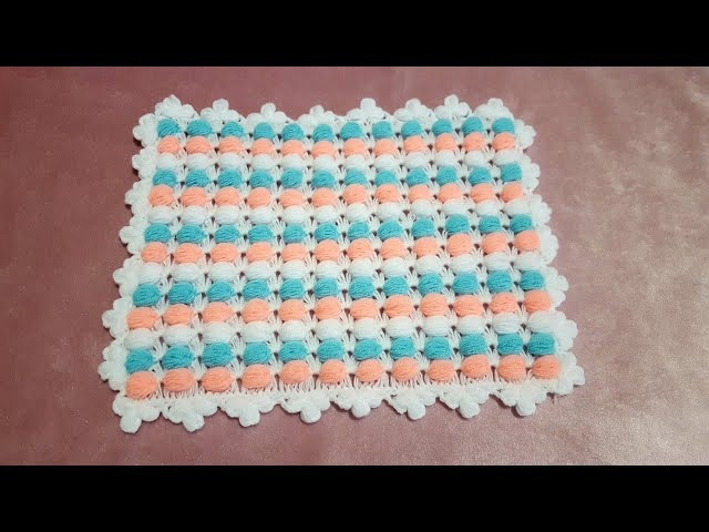 Bonbon Lif veya Bebek Battaniyesi Modeli