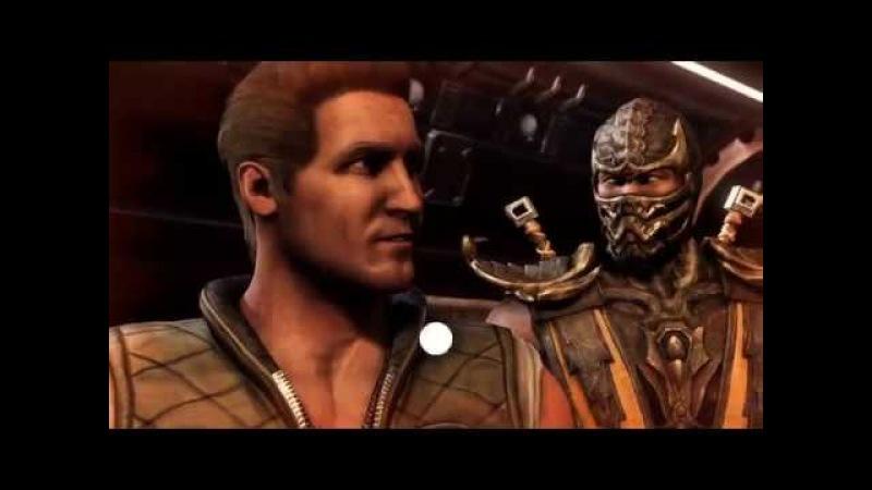 Mortal kombat X Прохождение глава 1 Джонни Кейдж