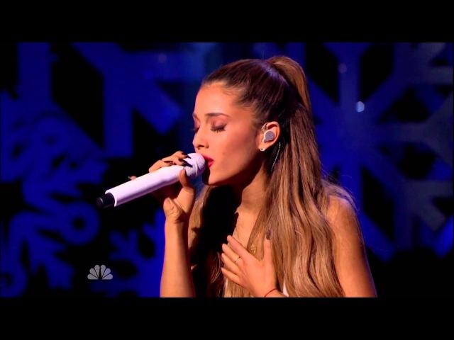 Ariana Grande – Last Christmas Michael Buble's Christmas In New York 2014