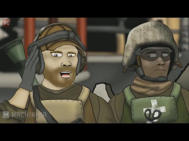 Battlefield Friends Друзья по Battlefield 1 сезон серии 1-13