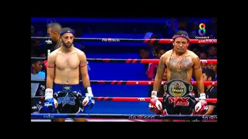 Yurik Davtyan Russia vs Payakdam Extracolefilm Thai 07 January 2018 MAX MUAY THAI