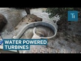 Небольшая ГЭС. Whirlpool Turbines Can Provide 247 Renewable Energy For Dozens Of Homes