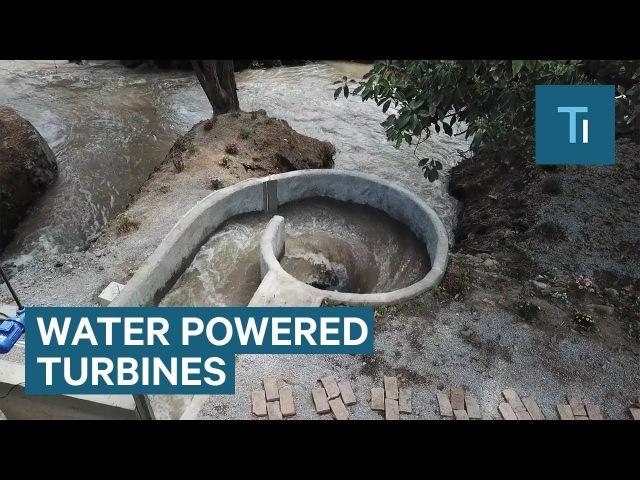 Небольшая ГЭС. Whirlpool Turbines Can Provide 24/7 Renewable Energy For Dozens Of Homes