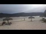 se seca la playa Balandra en M