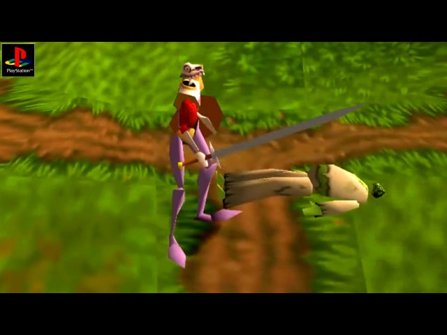 Medievil - Gameplay PSX PS1 PS One HD 720P (Epsxe)