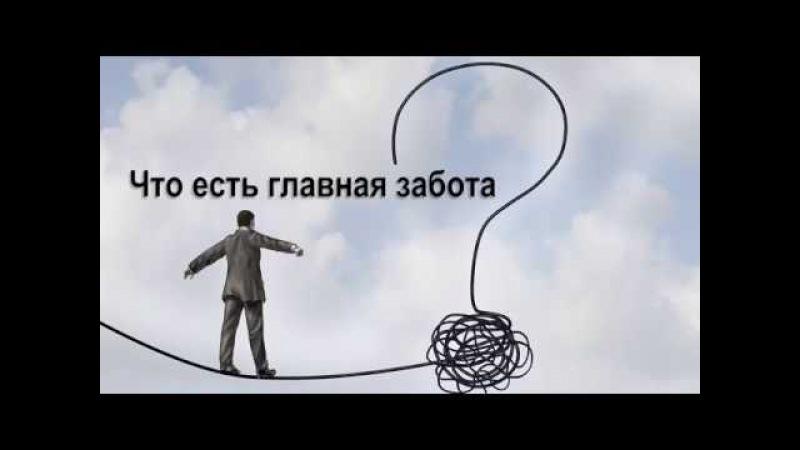 Что есть главная забота? | Ильдар Аляутдинов