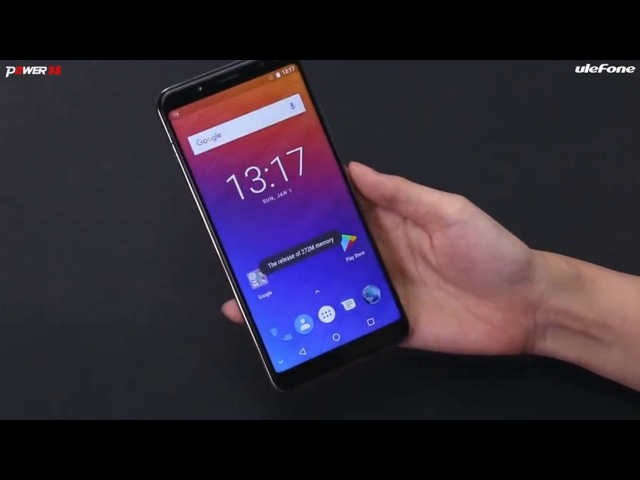 Ulefone power 3s - официальный релиз новинки на Android 8 батареей более 6000 мач