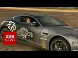 Double amputee teen racing driver makes comeback - BBC News