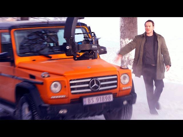 Снеговик — Съёмки фильма (2017)