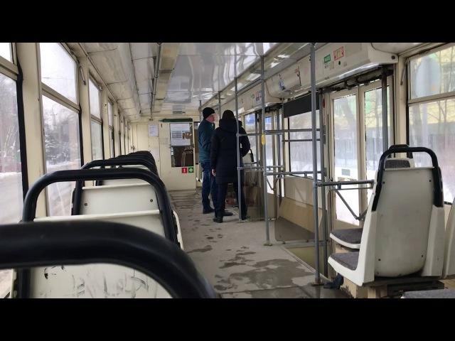 Ростовский трамвай / Rostov tram 71-619