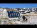 Как солнце и воздух на 100% отапливают дом 9 й тип солнечного отопления