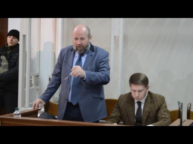 Адвокат обвиняемых в убийстве Андрей Федур обращается к матери Олеся Бузины