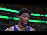 Joel Embiid Trolls Rihanna  Sixers vs Celtics  January 18, 2018  2017-18 NBA Season