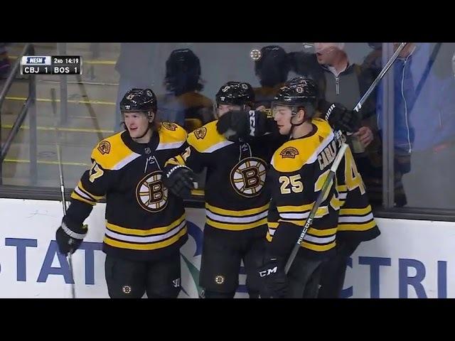 Columbus Blue Jackets vs Boston Bruins - March 19, 2018 | Game Highlights | NHL 201718
