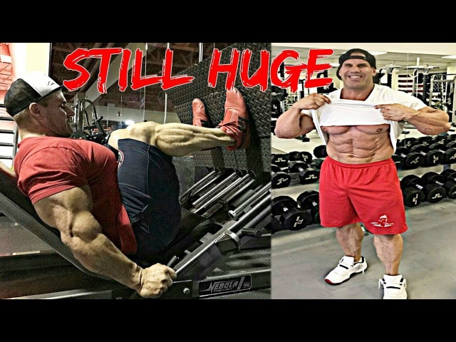 JAY CUTLER 2017 Workout - Still Massive At Age 44