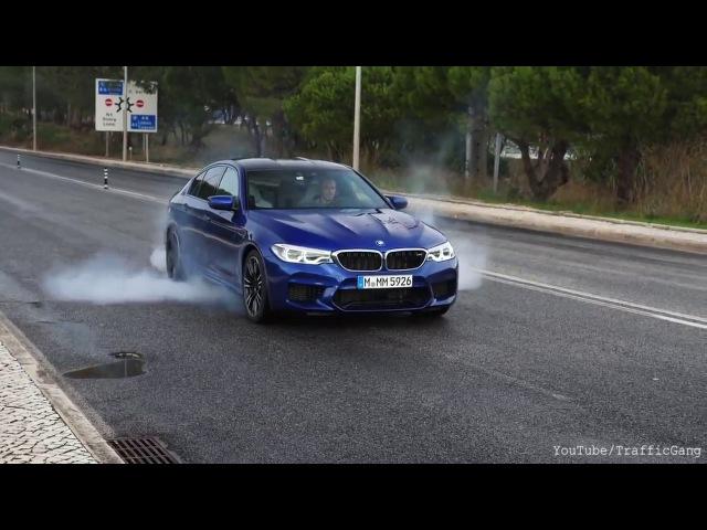 Drift - Bmw M5 F90 ★ Burnout Acceleration