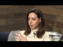 Aubrey Plaza discusses her film An Evening with Beverly Luff Linn at IndieWire's Sundance Studio
