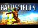 Battlefield 4 Random Moments 27 UCAV Tank and Bomb to the FACE