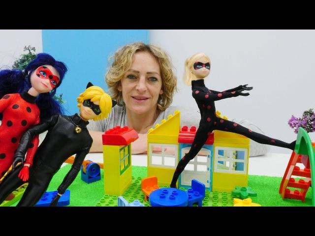 Spielspaß mit Puppen - Ladybug und Chat Noir suchen Antibug