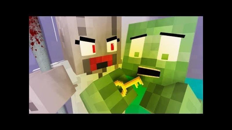 ✅ Monster School 👻 FULL GRANNY HORROR GAME CHALLENGE Minecraft Animation