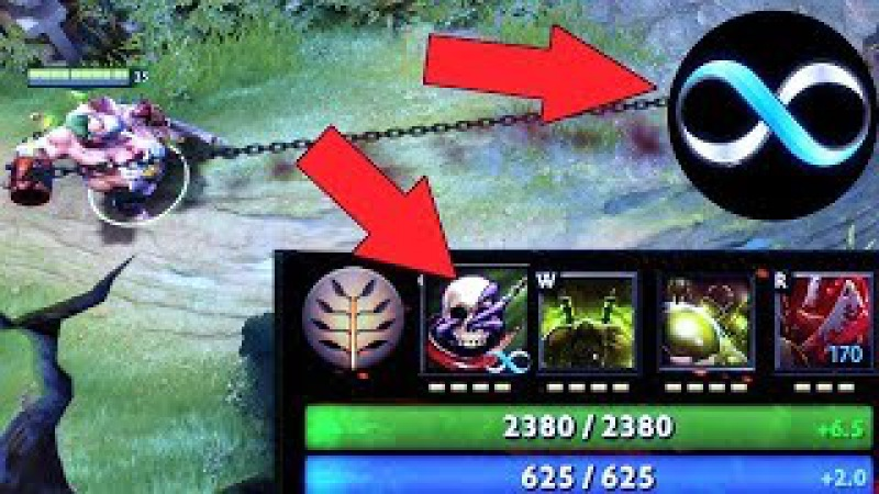 Abed NO Cooldown Hook The Spammiest of Spam Pudge 10k Impossible Hooks 7.07 Dota 2