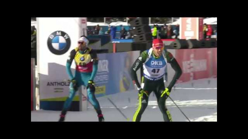 Antholz-2018. Arnd Peiffer 3rd in sprint