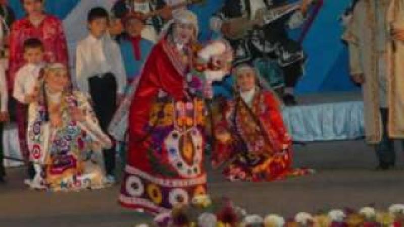 (Tajikistan Folk Music) Ubaidullo Karomatov   Dokhtar-i Gharmi