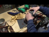 Как сделать мощный насос для лодки ПВХ из автопылесоса Шмель, ч.3